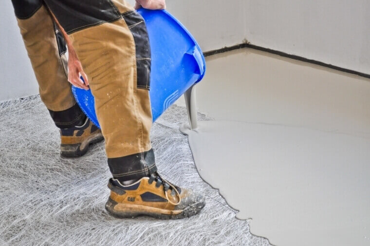 aanleg vloer epoxyvloer