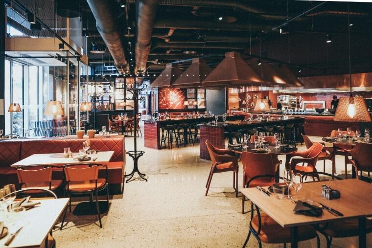 gietvloer restaurant